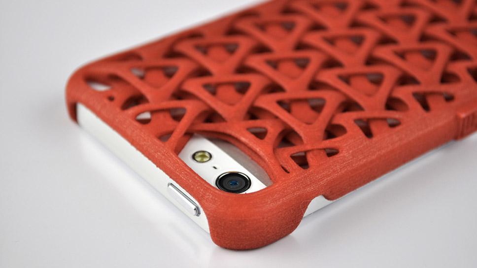 Objet impression 3d coque téléphone iphone