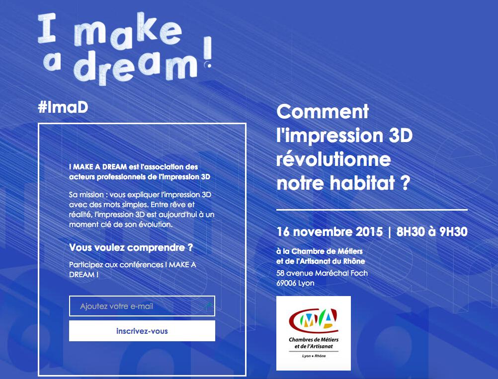 I make a dream impression 3D