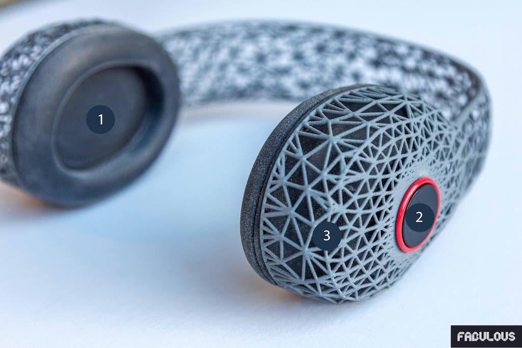 Carlin - Fabulous - Casque - Imprimerie 3D - 3D Printing - Techniques - Composants - Design - Luxe - Projet