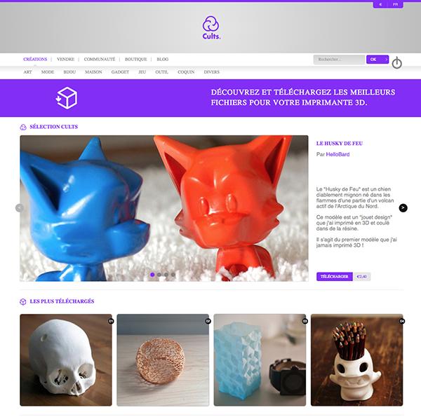 Cults - 3D - Marketplace - Open Source