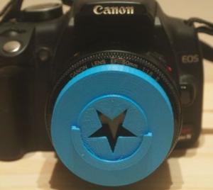 Bokeh - Etoile - Canon - Impression 3D