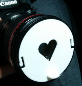 Bokeh - Coeur - Canon - Impression 3D