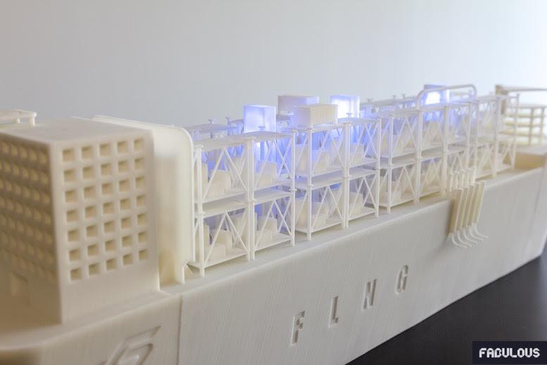 Hutchinson maquette impression 3D