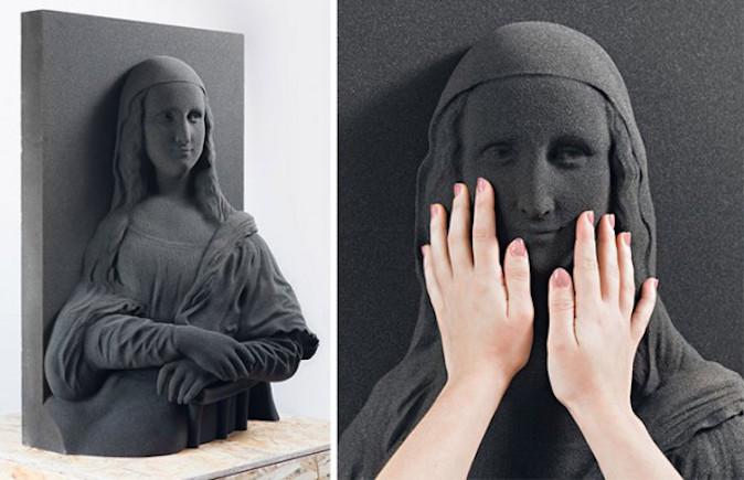 Mona Lisa pour malvoyants