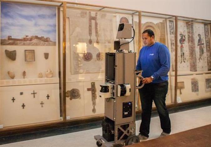 Scanning des galeries