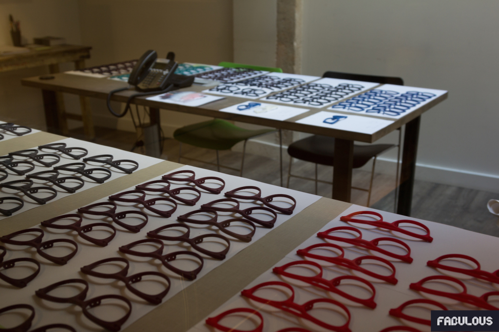 J&A - Lunettes teintées exposées