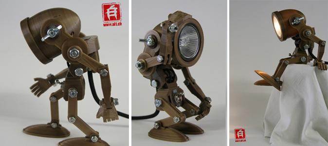 Alain-Schlup-Lampe Articulable