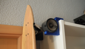 Ikea Billy Longboard Holder - Thingiverse - Impression 3D