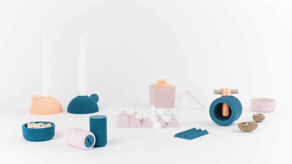 Impression 3D - collection vaisselle - UAU Project - Cults