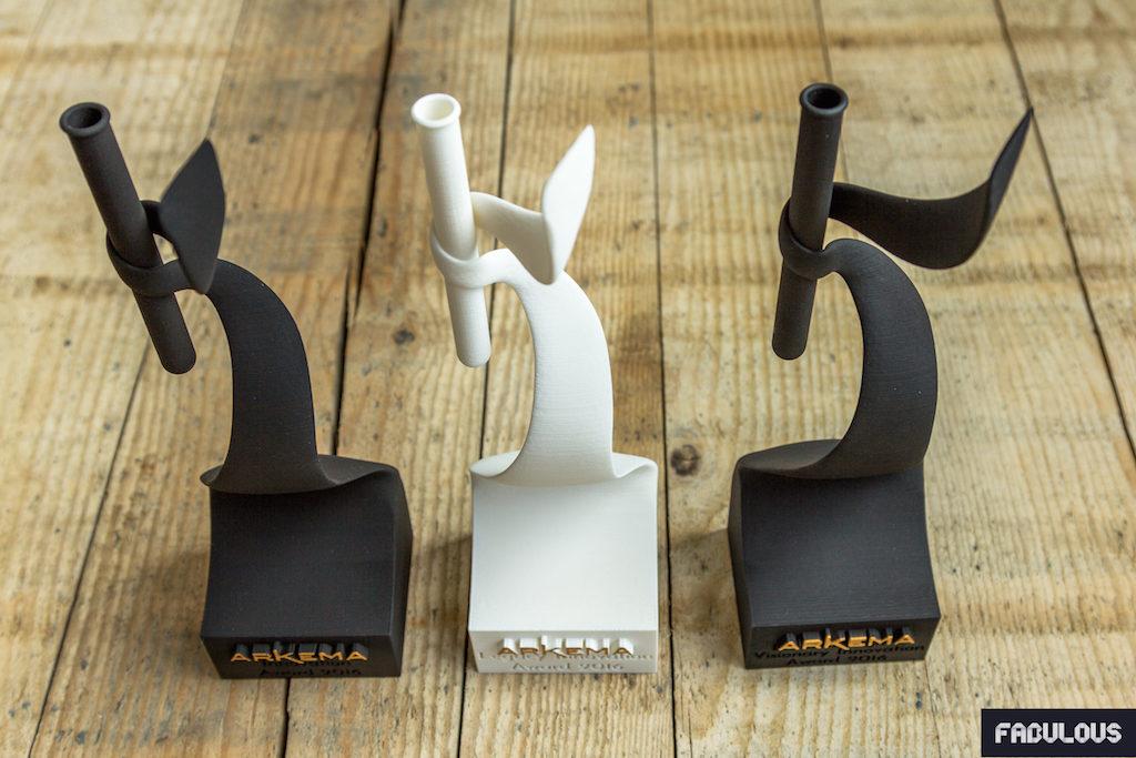 Trophées - Arkema - Fabulous - Chimie - Impression 3D