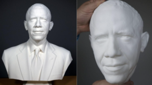 Impression 3D - Obama - Scan 3D