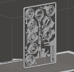 IFCAM - Impression 3D - Fabulous - Arbre - Voeux